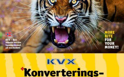 KVX Konverteringskampanje 2018
