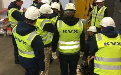 KVX Internasjonale produkttrening avholdt
