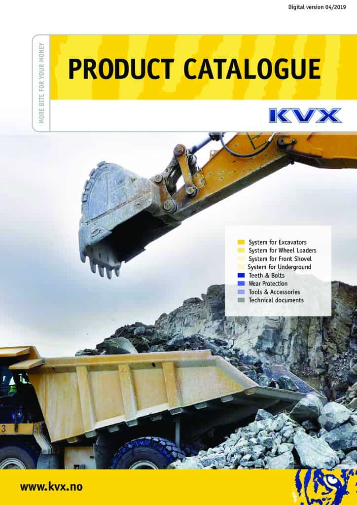 Catalogues and brochures - Komatsu KVX