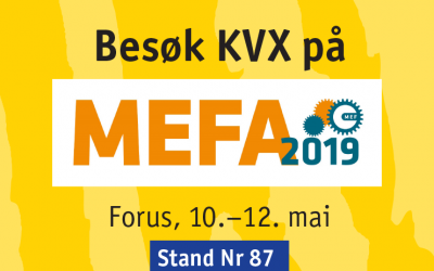 Besøk KVX på MEFA 2019